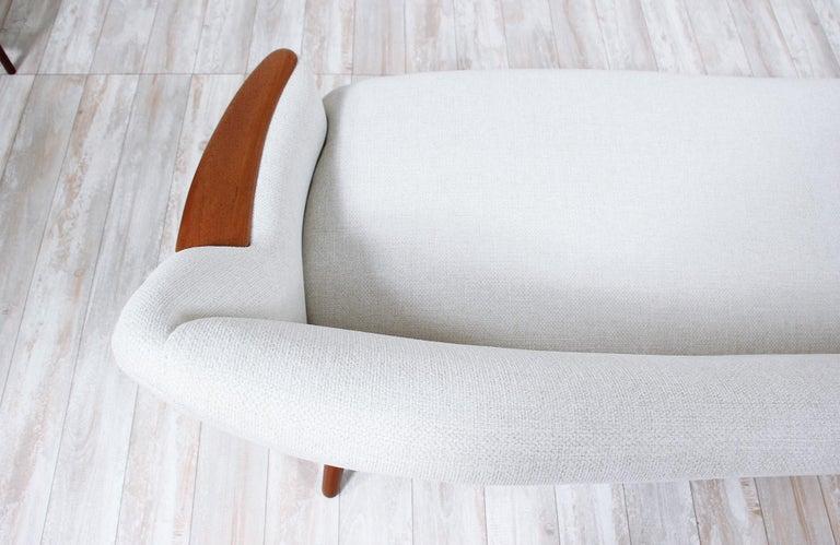 Danish Modern Model-58 Sofa by Kurt Ostervig for Rolschau Mobler For Sale 1