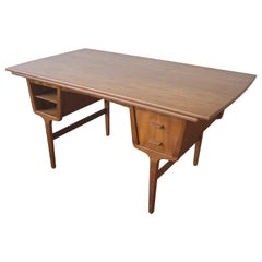 Danish Modern Multi-Desk in Teak