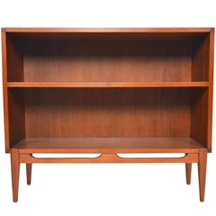 Danish Modern Narrow Teak Bookcase #2