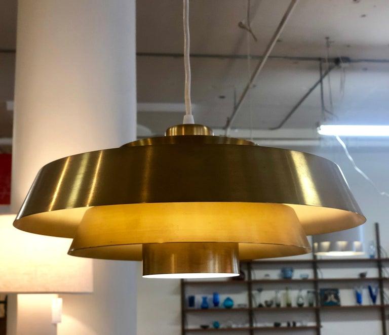 Danish Modern Nova Pendant In Excellent Condition For Sale In Minneapolis, MN