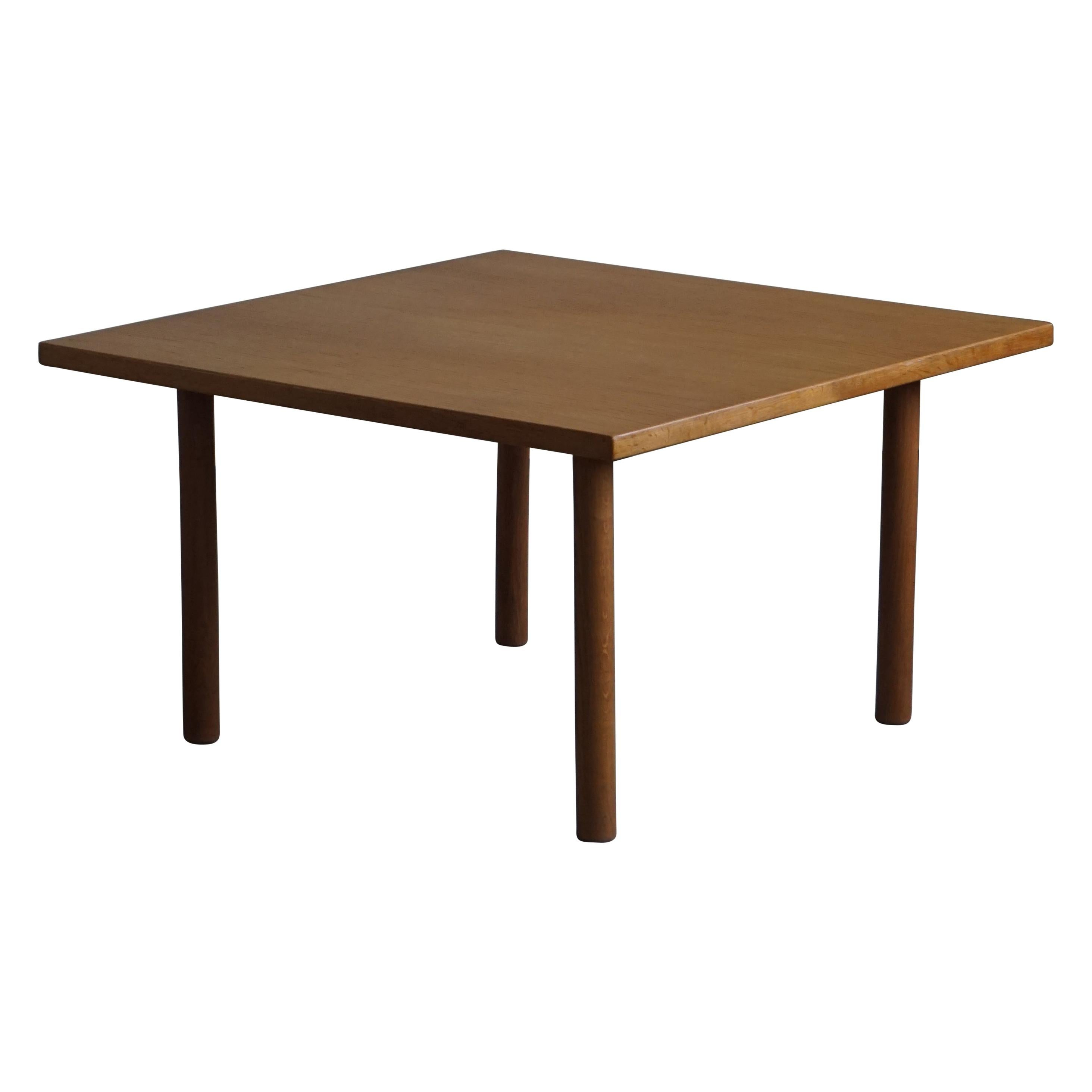 Danish Modern Oak Coffee Table by Hans J. Wegner for Andreas Tuck, 1960s