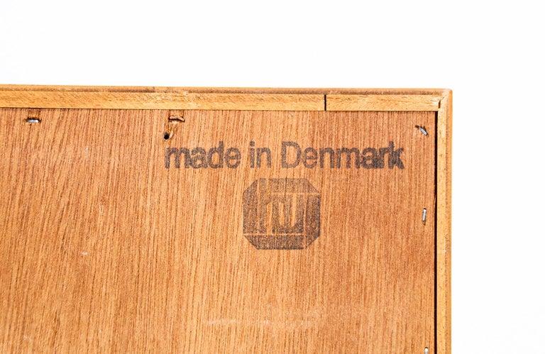 Danish Modern Oak Credenza by Carlo Jensen for Hundevad & Co. For Sale 6