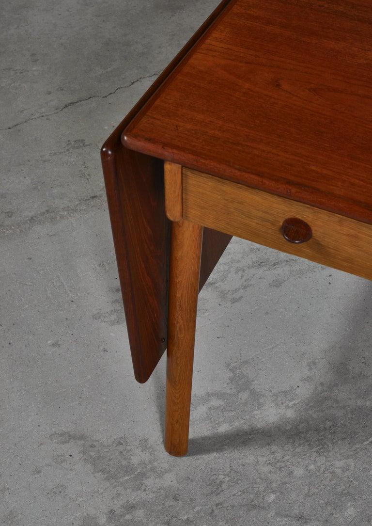 Danish Modern Oak & Teakwood Desk