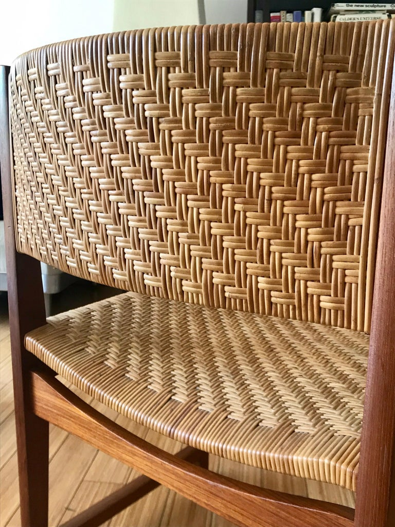 Danish Modern Occasional Chair For Sale 3