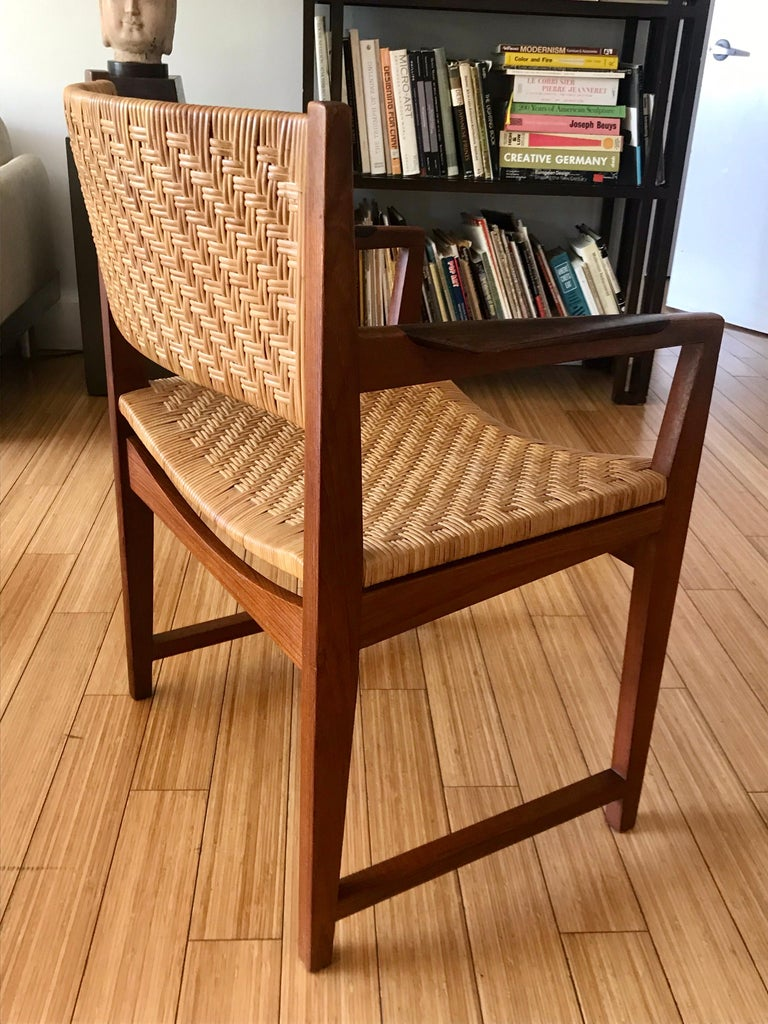 Danish Modern Occasional Chair For Sale 4