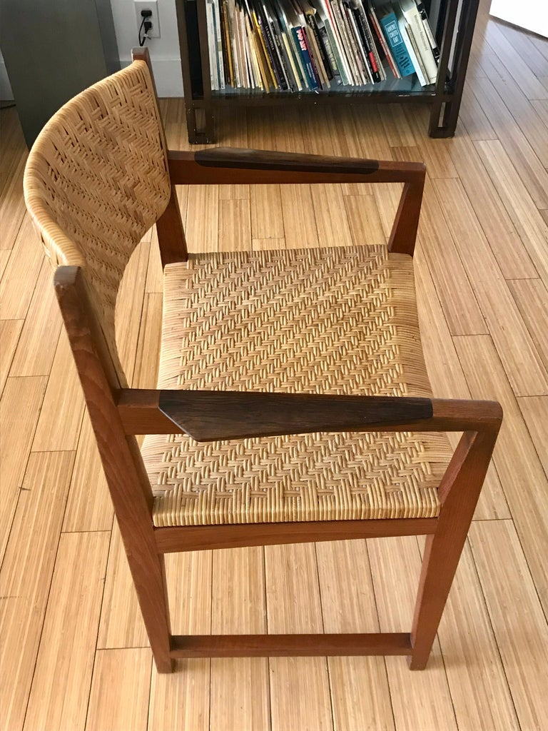 Danish Modern Occasional Chair For Sale 5