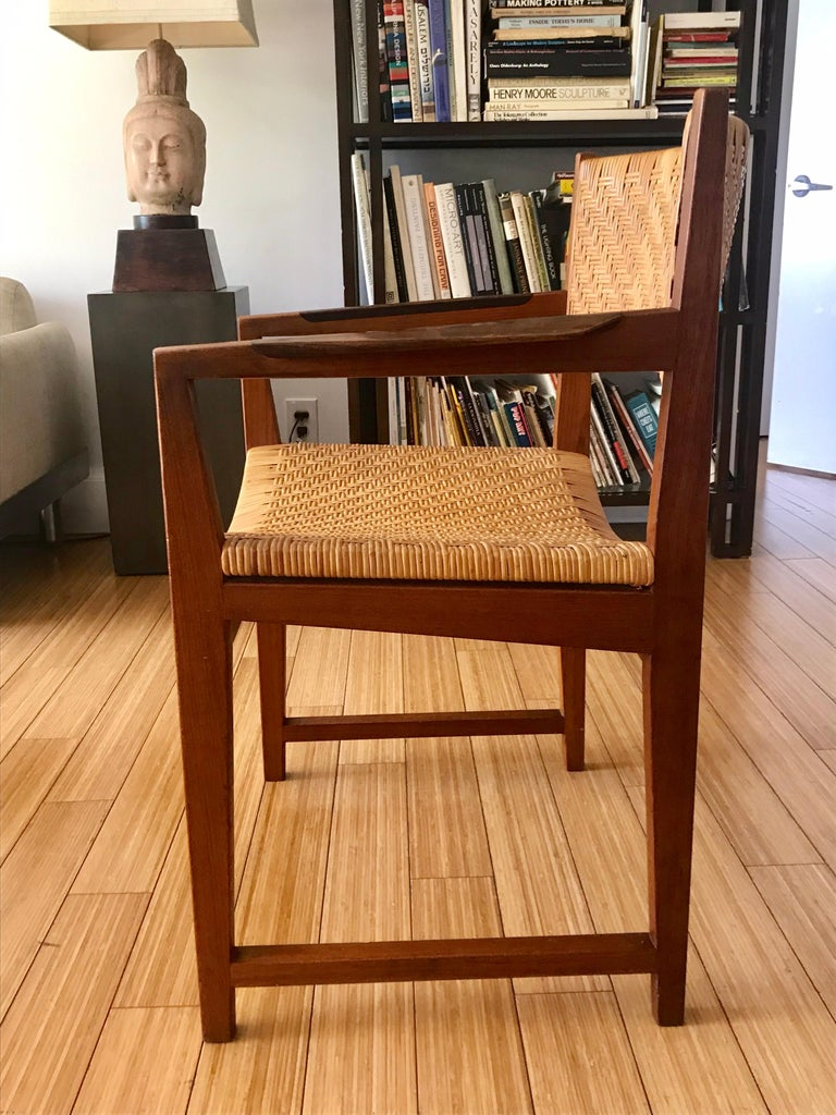 Danish Modern Occasional Chair In Good Condition For Sale In Los Angeles, CA