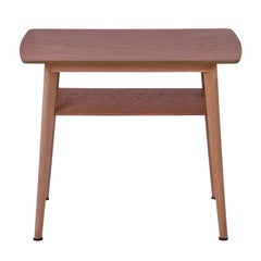 Danish Modern Occasional Table with Shelf