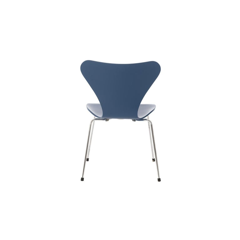 Painted Danish Modern Original Series 7 Chairs by Arne Jacobsen, Set of 4 For Sale