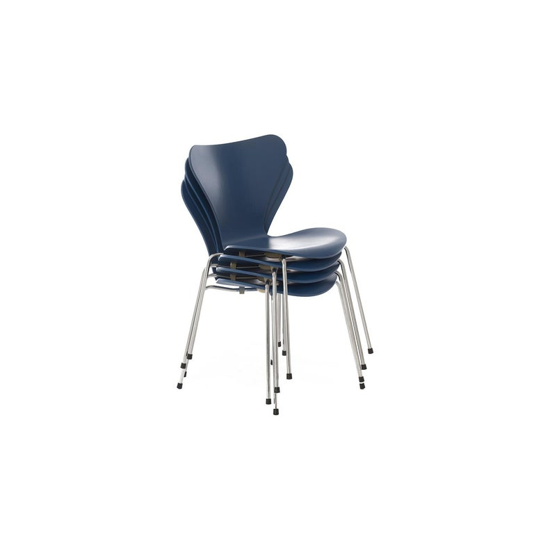 Danish Modern Original Series 7 Chairs by Arne Jacobsen, Set of 4 For Sale 1