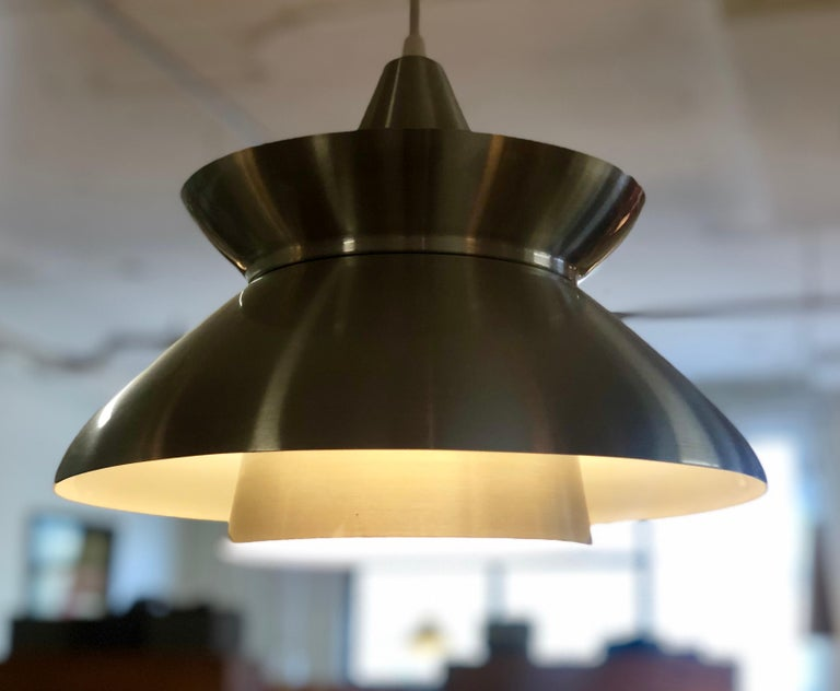 Danish Modern Pendant In Excellent Condition For Sale In Minneapolis, MN