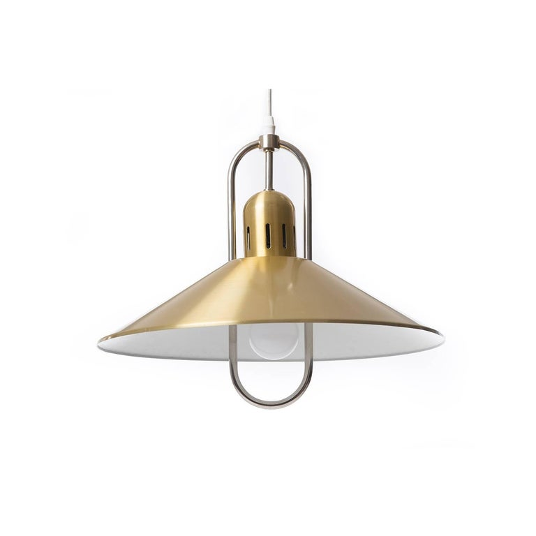 Scandinavian Modern Danish Modern Pendant Light Fixture For Sale