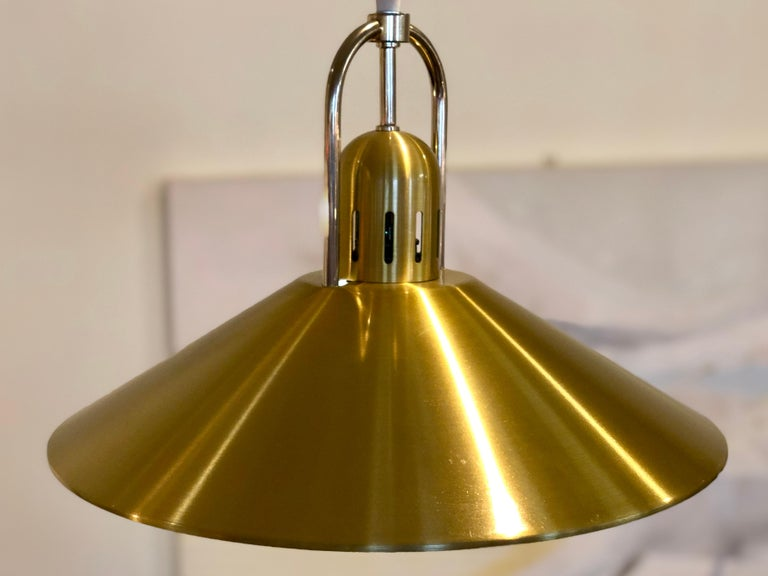 Danish Modern Pendant Light Fixture In Excellent Condition For Sale In Minneapolis, MN