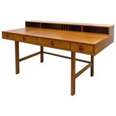 Danish Modern Peter Løvig Nielsen Flip-Top Desk Designed by Jens Quistgaard