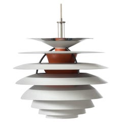 Danish Modern PH Kontrast Pendant Light by Paul Henningsen