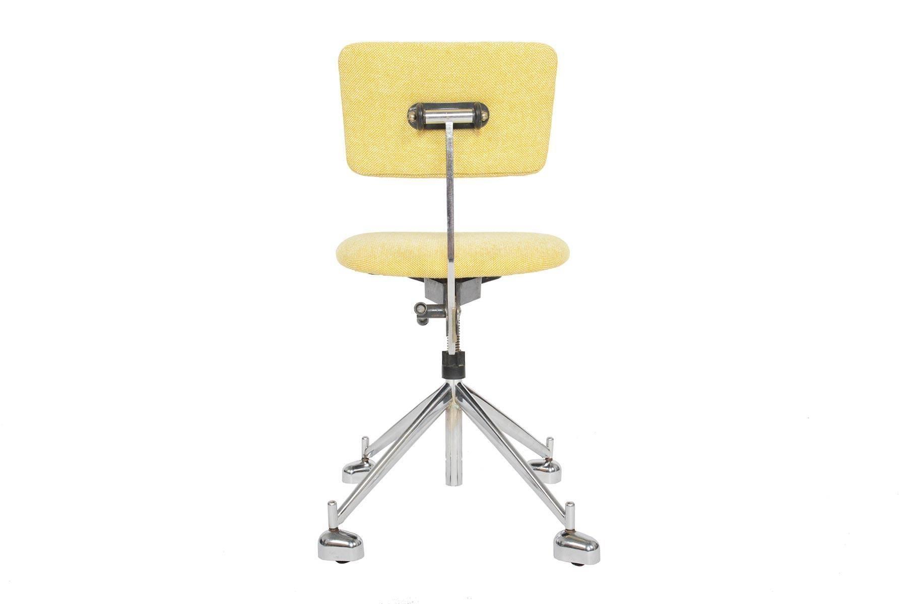 Jørgen Rasmussen Industrial Danish Modern Kevi Adjustable Office Chair For  Sale 3