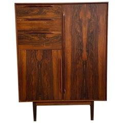 Danish Modern Rosewood Armoire / Dresser