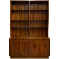 Danish Modern Rosewood Bookcase / Cabinet by Poul Hundevad, circa 1960s