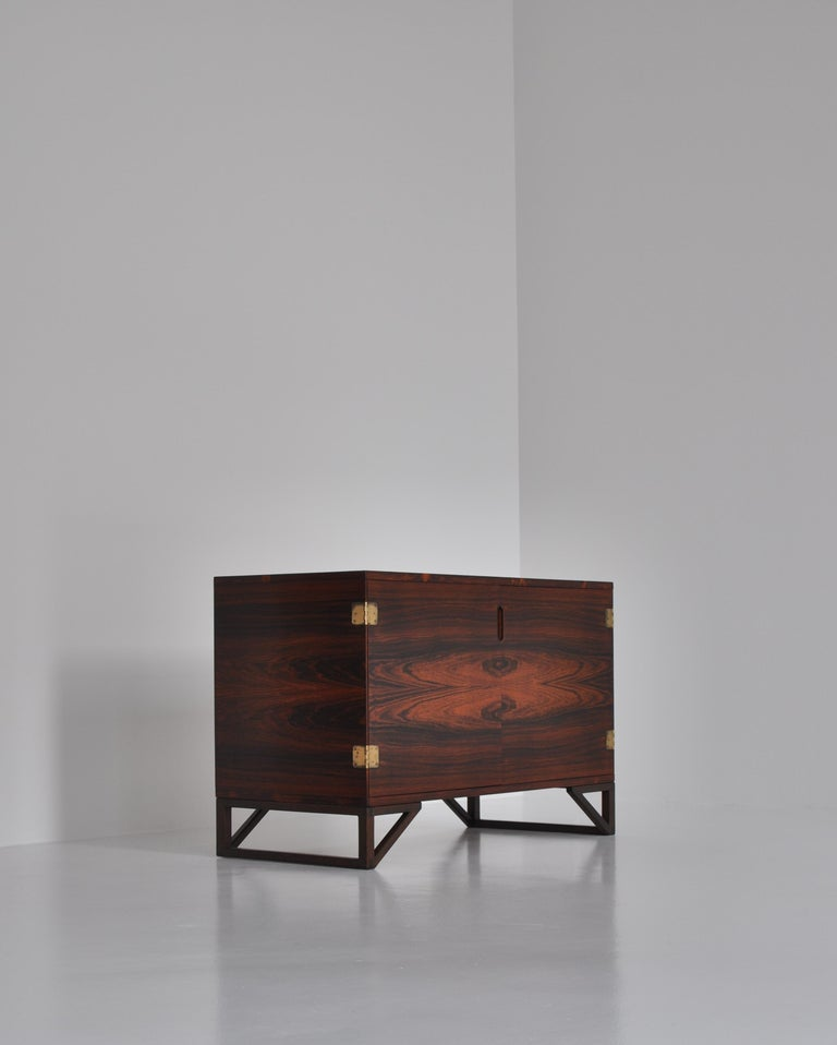 Danish Modern Rosewood Cabinet / Sideboard by Svend Langkilde for Illums, 1960s 5