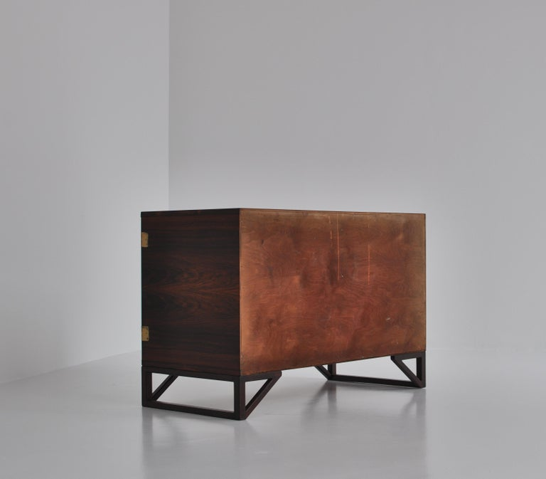 Danish Modern Rosewood Cabinet / Sideboard by Svend Langkilde for Illums, 1960s 6