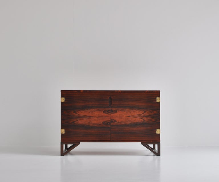 Scandinavian Modern Danish Modern Rosewood Cabinet / Sideboard by Svend Langkilde for Illums, 1960s