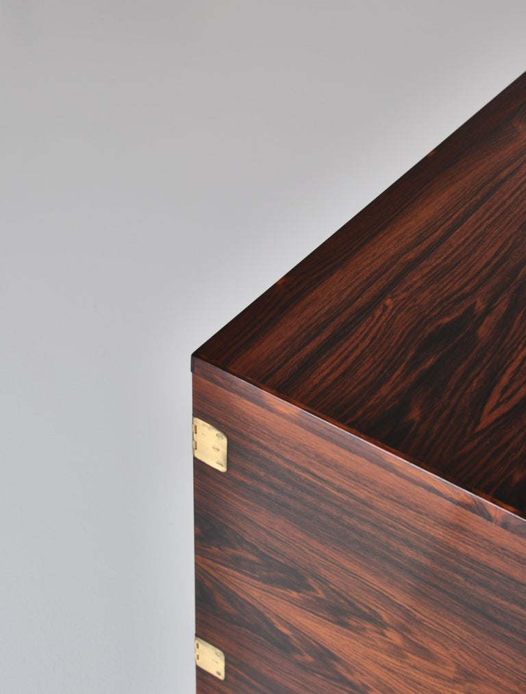 Danish Modern Rosewood Cabinet / Sideboard by Svend Langkilde for Illums, 1960s In Good Condition In Odense, DK