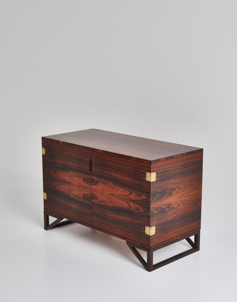 Mid-20th Century Danish Modern Rosewood Cabinet / Sideboard by Svend Langkilde for Illums, 1960s