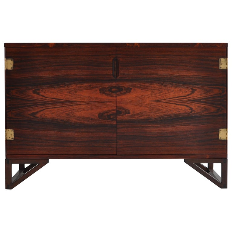 Danish Modern Rosewood Cabinet / Sideboard by Svend Langkilde for Illums, 1960s
