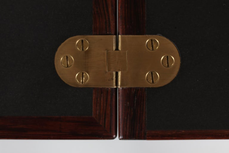 Danish Modern Rosewood Captains Bar by Reno Wahl Iversen Made by Dyrlund, 1970s For Sale 9