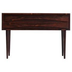 Danish Modern Rosewood Chest of Drawers by Niels Clausen, 1960s