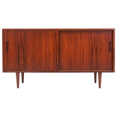 Danish Modern Rosewood Credenza by Carlo Jensen for Hundevad & Co.