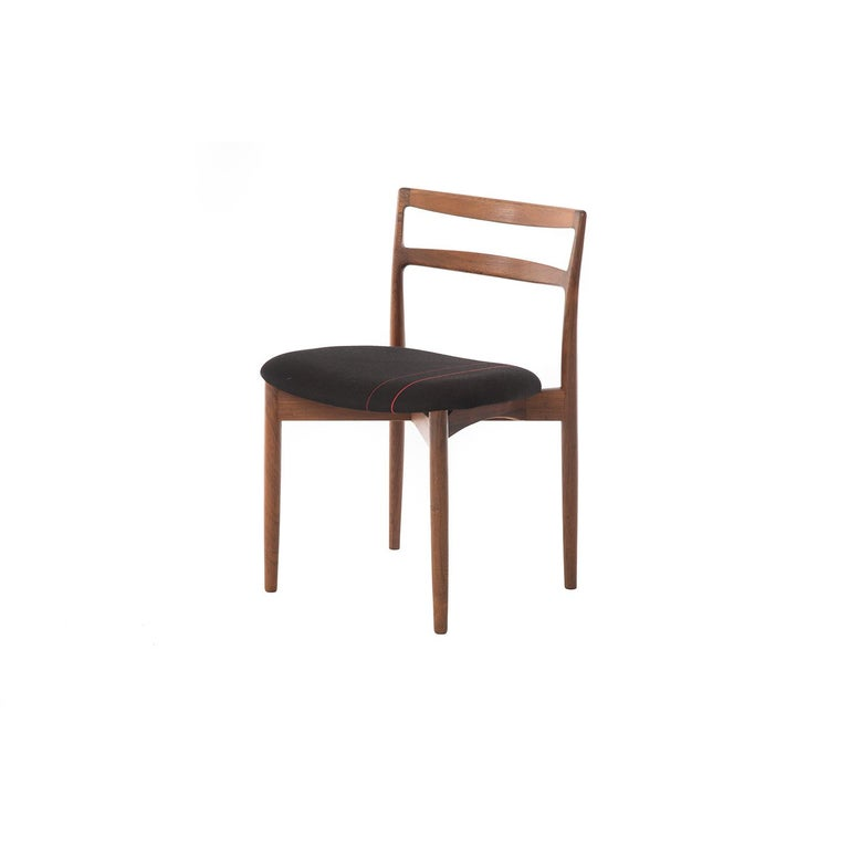 Scandinavian Modern Danish Modern Rosewood Dining Chairs by Harry Østergaard For Sale