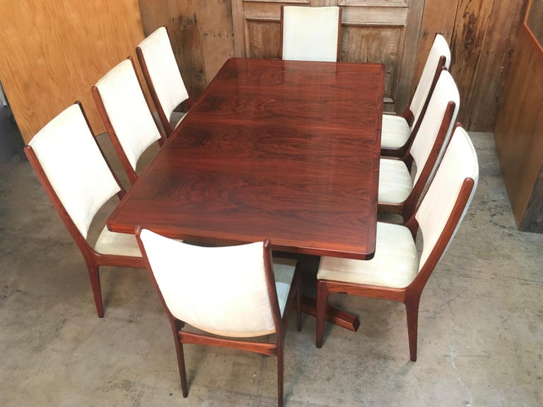 Danish Modern Rosewood Dining Chairs For Sale 6