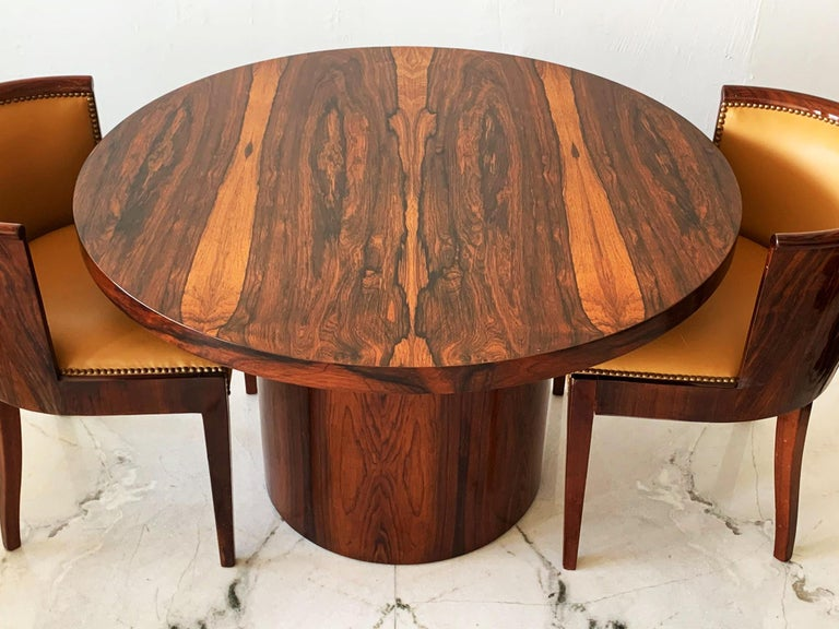 Mid-Century Modern Danish Modern Rosewood Dining Game Table For Sale