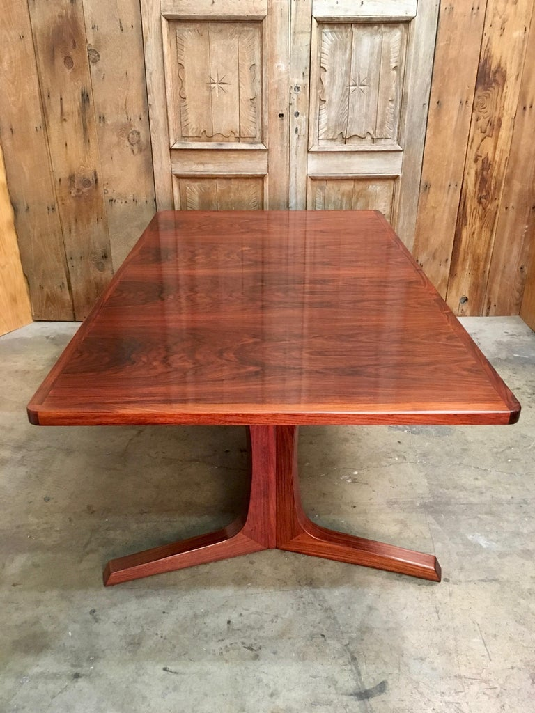 Danish Modern Rosewood Dining Table, by Gudme Møbelfabrik ...
