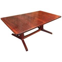 Danish Modern Rosewood Dining Table, by Gudme Møbelfabrik