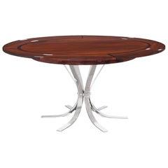 """Danish Modern Rosewood """"Flip-Flap"""" Dining Table by Dyrlund"""