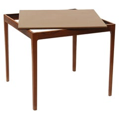 Danish Modern Rosewood Game Table by Ludvig Pontopiddan