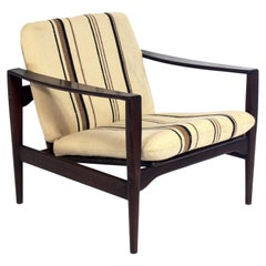 Danish Modern Rosewood Lounge Chair