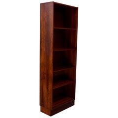 Danish Modern Rosewood Open Bookcase Designed by Carlo Jensen for Poul Hundevad