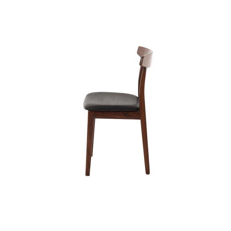 Scandinavian Modern Danish Modern Rosewood Side Chair For Sale