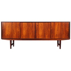 Danish Modern Rosewood Sideboard by E.W. Bach