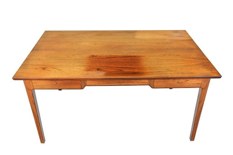 Origin: Denmark Designer: Unknown - In the manner of Fritz Heningsen Manufacturer: Unknown Era: 1960s Dimensions: 61