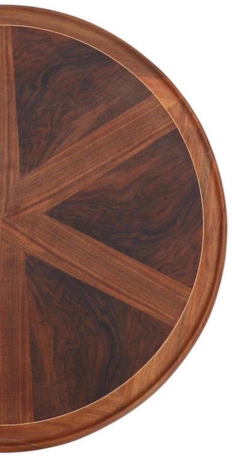 Scandinavian Modern Danish Modern Round Coffee Table For Sale