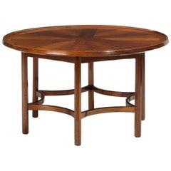 Danish Modern Round Coffee Table