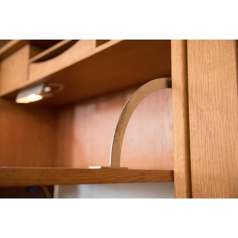 Danish Modern RY100 Murphy Bed, Desk & Shelving System by Hans J Wegner for Ry For Sale 6