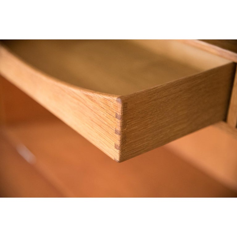 Danish Modern RY100 Murphy Bed, Desk & Shelving System by Hans J Wegner for Ry For Sale 7
