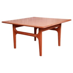 Danish Modern Sculpted Teak Occasional Side Table by Trioh, circa 1960s