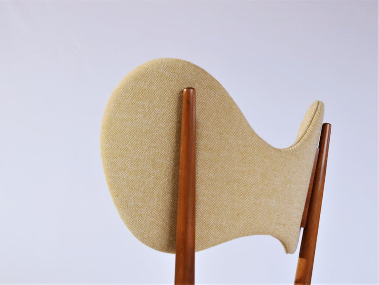 Stained Danish Modern Sculptural