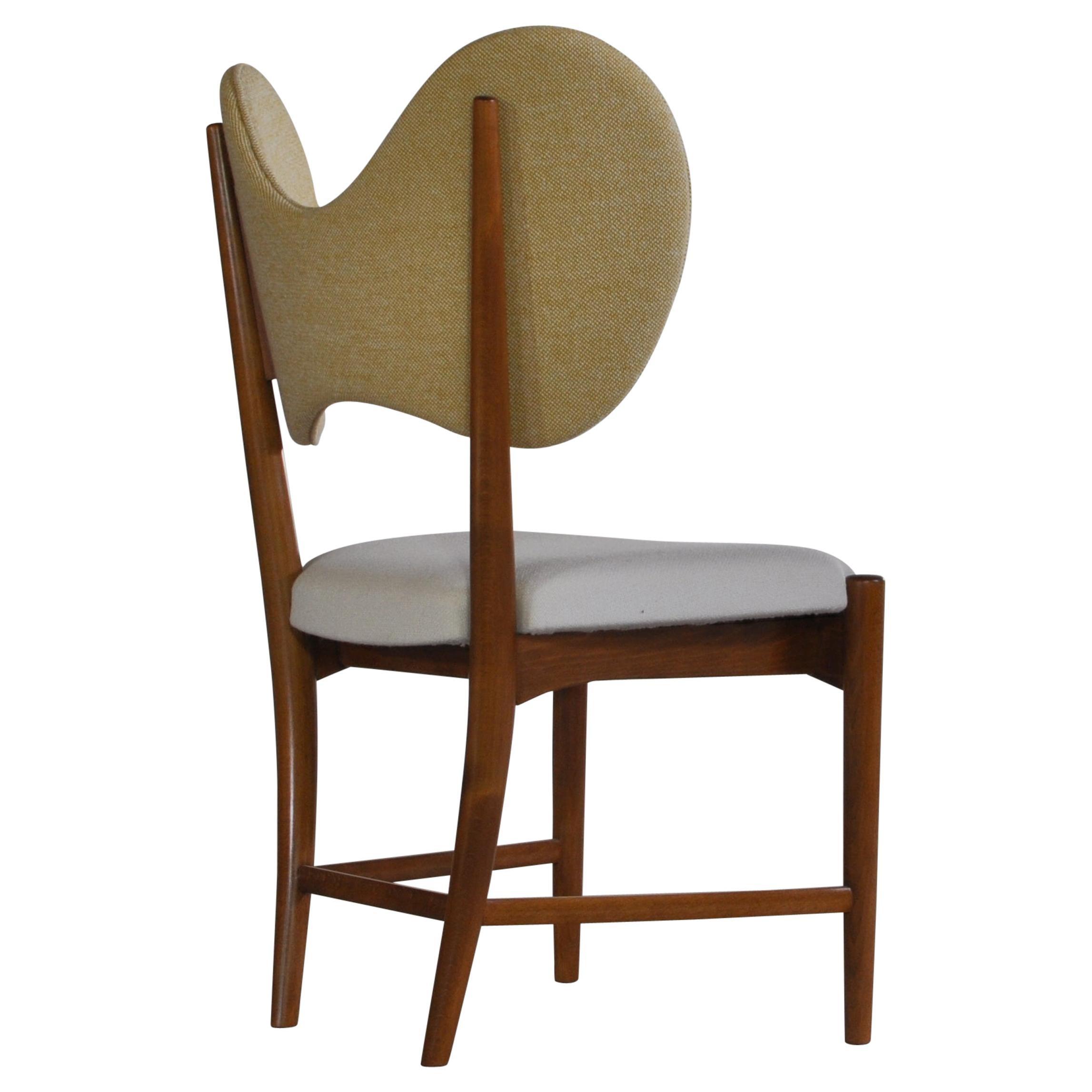 "Sculptural ""Butterfly"" Chair by Eva & Nils Koppel, Danish Modern, 1950s"